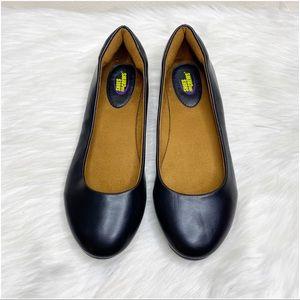 Shoes for Crews Black Slip On Flats Non Slip Work